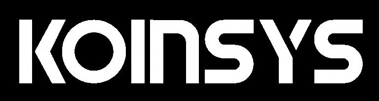 Logo Koinsys Blanco
